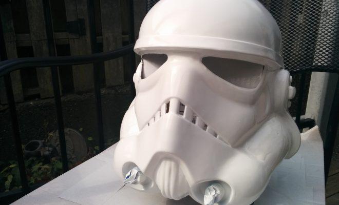 Diy rubies stormtrooper helmet mod knockout nerd solutioingenieria Image collections