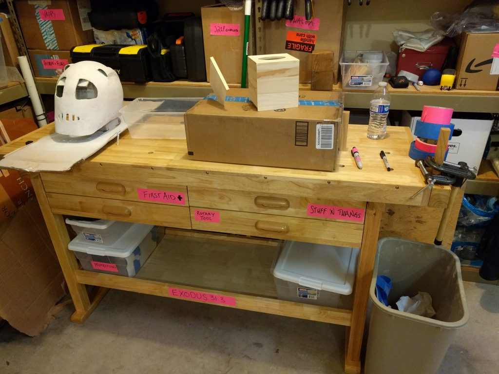 "Harbor Freight Windor Design 60"" Workbench."