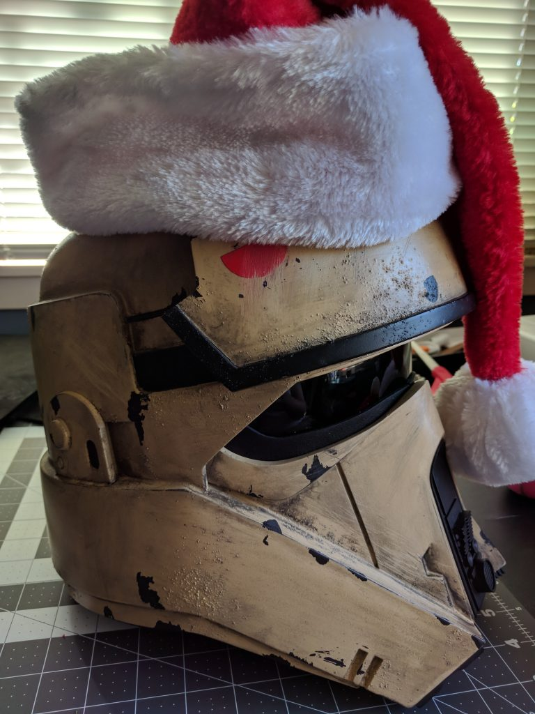 Shoretrooper Santa Hat